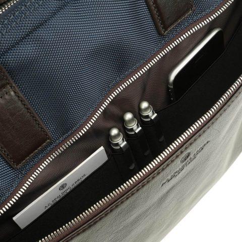 Cartella 2 zip Metropolitan tasca esterna